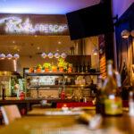 Płytki Stara Cegła MILKE kolor naturalny w restauracji