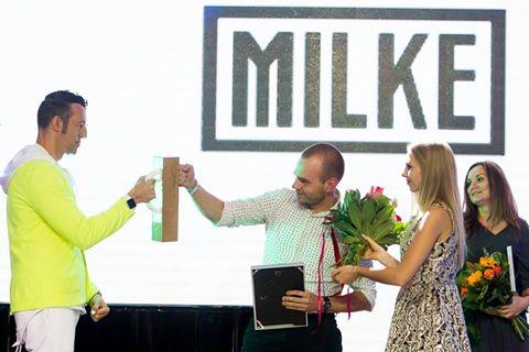 Wręczenie nagrody dla MILKE – za Odkrycie Roku Warsaw Home 2016