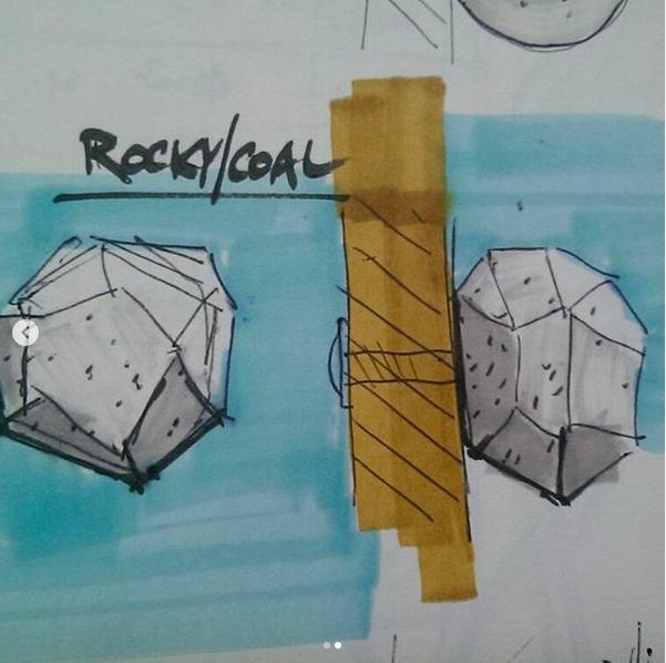 Wizualizacja - Uchwyty betonowe TEKT Concrete dla Plankton dla domu