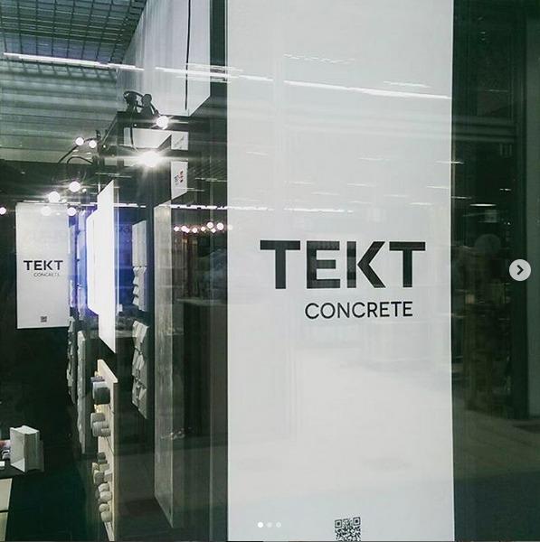 Stoisko TEKT Concrete - targi Warsaw Home 2017