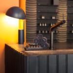 Kafle 3D WAVE & PLANK z betonu architektonicznego - MILKE - TEKT Concrete - salon Purite