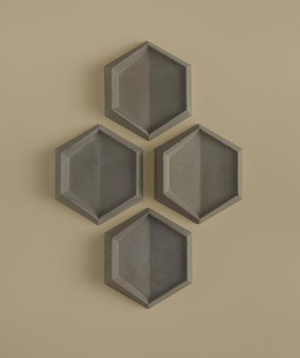 HEXO 1 - linia TEKT Concrete - MILKE
