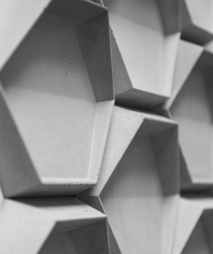 HEXO 1 - linia TEKT Concrete - MILKE - realizacja 1
