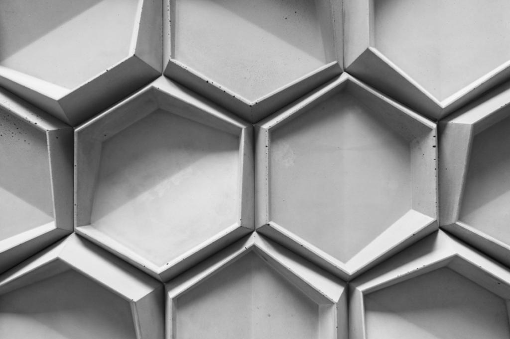 HEXO 1 - linia TEKT Concrete - MILKE - realizacja 2