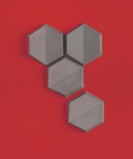 HEXO 2 - linia TEKT Concrete - MILKE