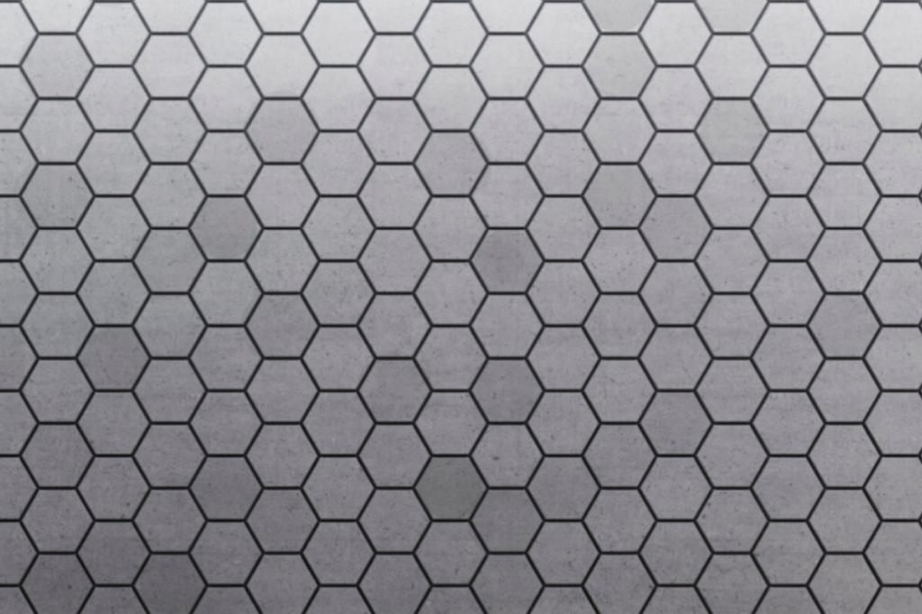 HEXO P - linia TEKT Concrete - MILKE - wizualizacja