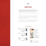 SQR MINI - karta katalogowa