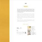 WAVE - karta katalogowa