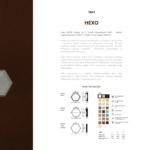 HEXO - karta katalogowa