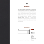 ROOFO - karta katalogowa