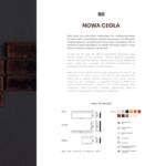 NOWA CEGŁA - karta katalogowa
