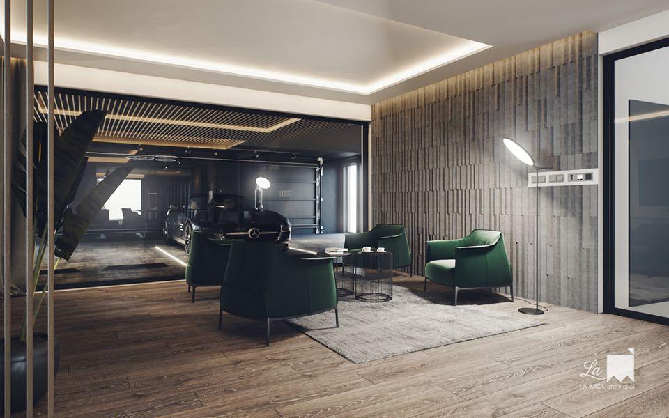 Kafle PLANK - TEKT Concrete - La MIZA Architekci