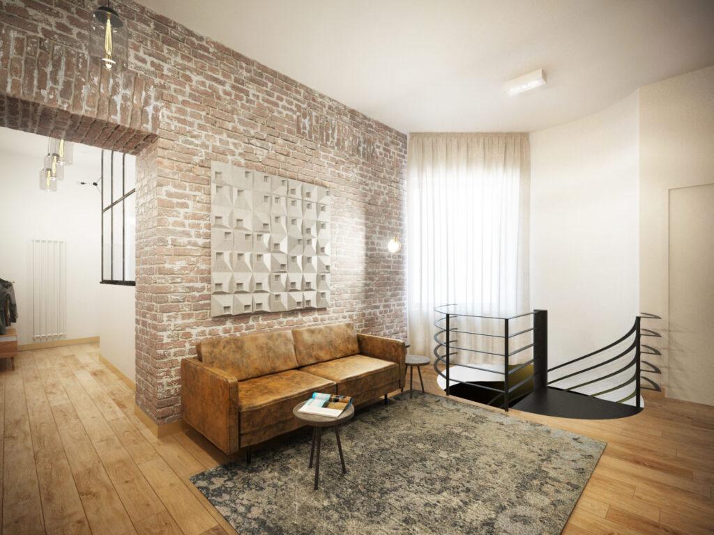 Kafle 3D z betonu architektonicznego SQR 1 - TEKT Concrete - dom