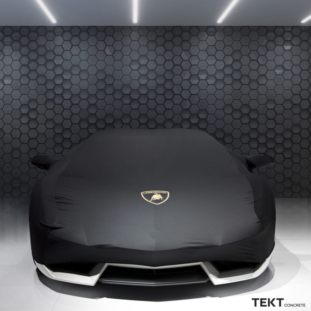 Kafle HEXO 3D - TEKT Concrete - samochod