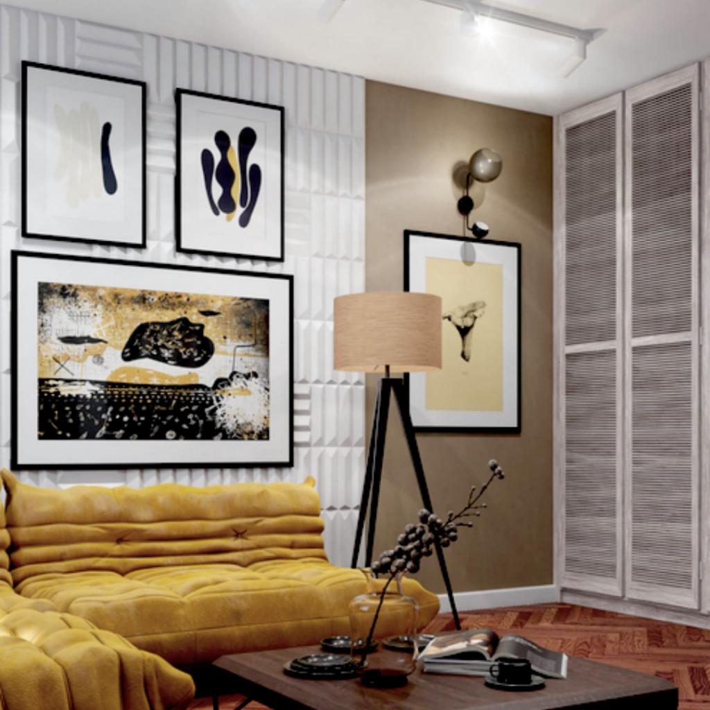 Kafle PLANK - TEKT Concrete - Stellar Studio